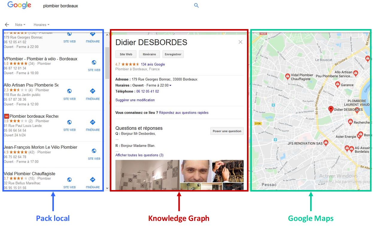 Google My Business pour améliorer son referencement local